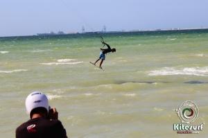 kitesurfing in progreso